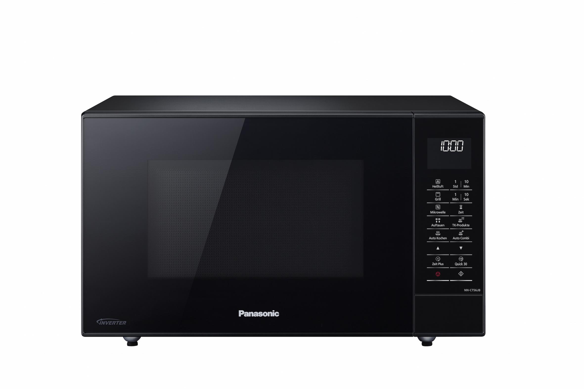 Panasonic kombigerate nn ct56 und nn ct57 zum backen for Mikrowelle zum backen und grillen