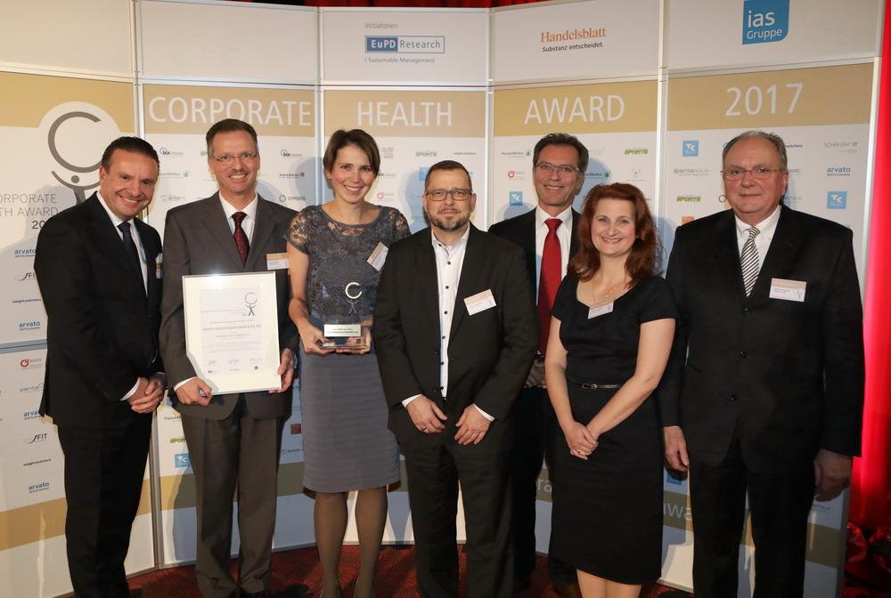 abbvie deutschland als sieger mit corporate health award 2017 ausgezeichnet pressemitteilung. Black Bedroom Furniture Sets. Home Design Ideas
