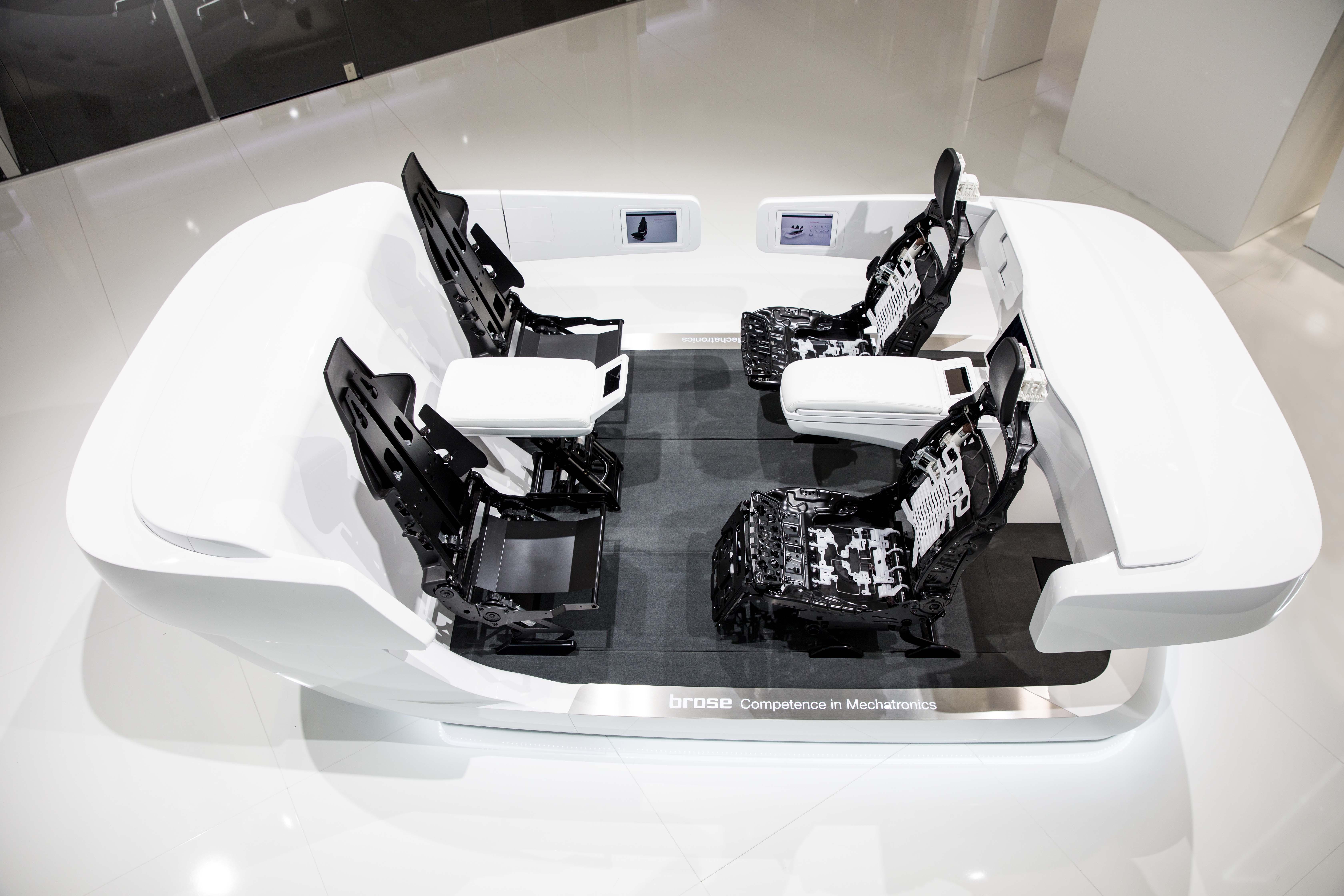 Presseinformation flexibilit t beim autonomen fahren for Interieur der zukunft