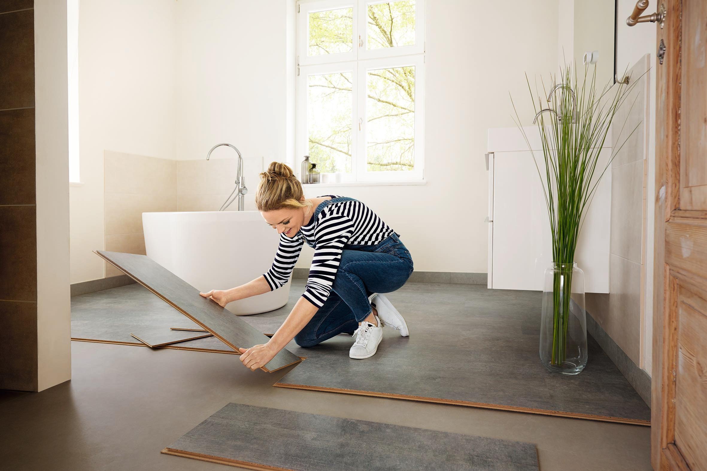Boden wechsel dich jeder dritte m chte den fu boden in - Korkboden badezimmer ...