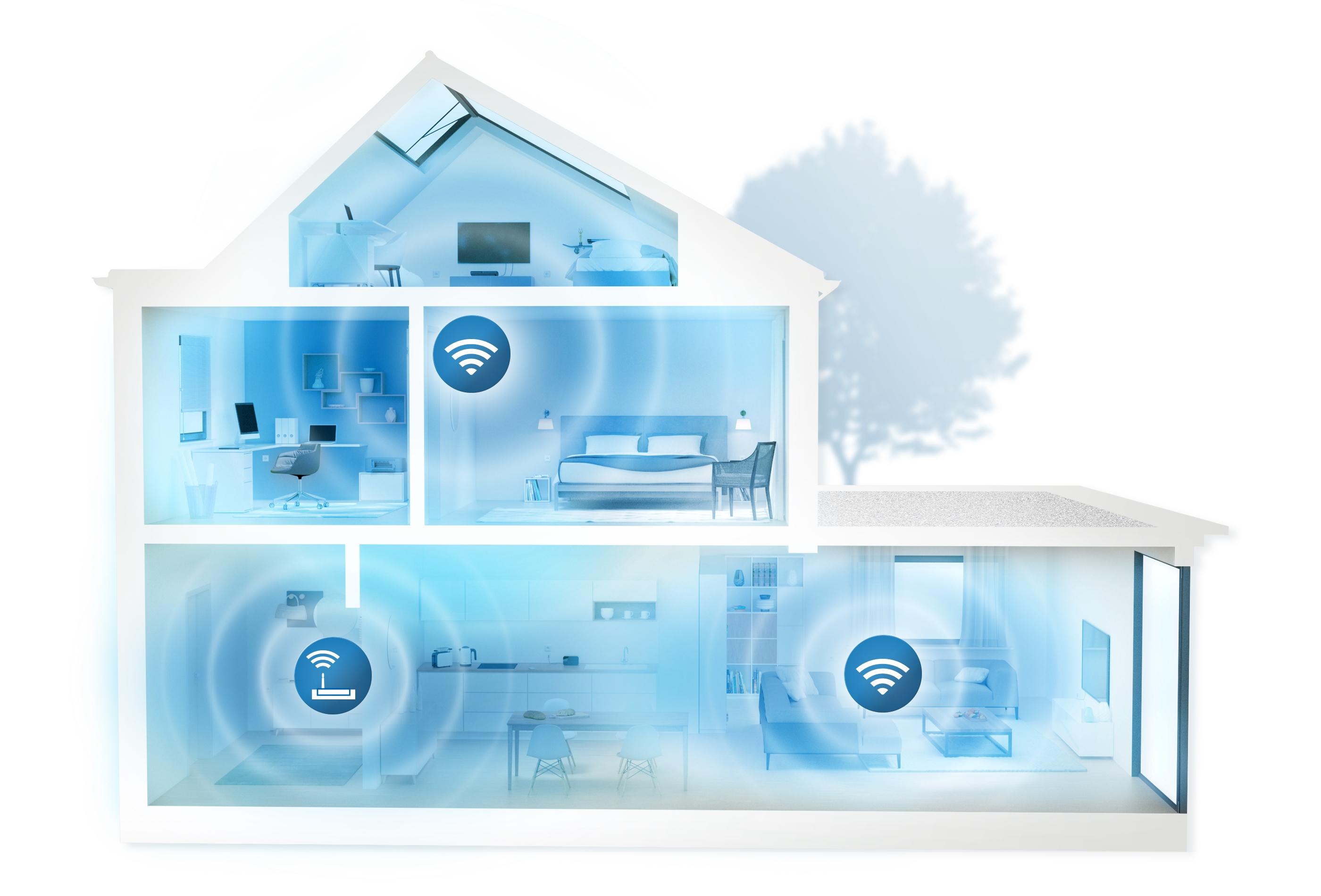 wlan ratgeber die f nf besten tipps f r ein schnelles wlan im ganzen zuhause pressemitteilung. Black Bedroom Furniture Sets. Home Design Ideas