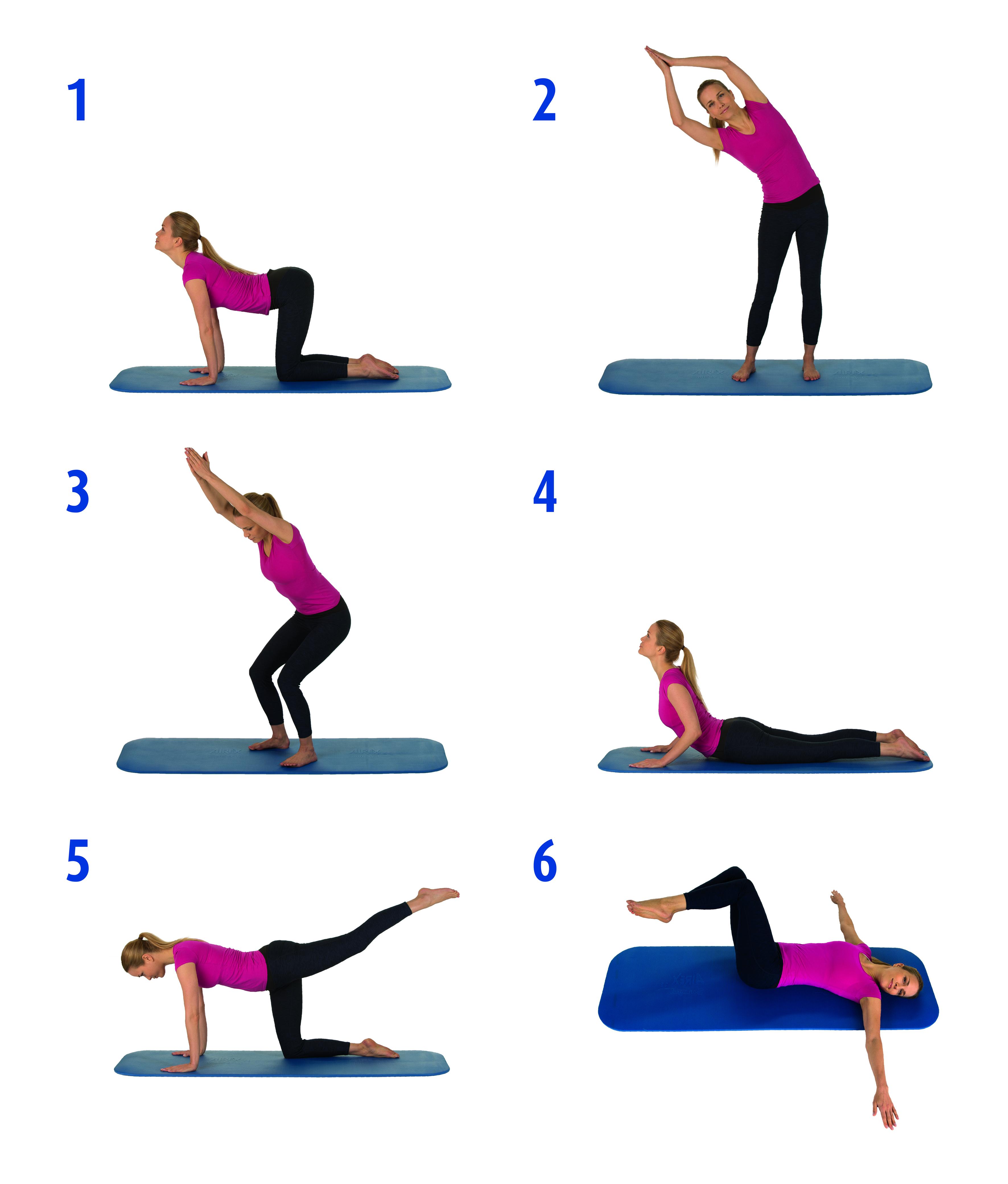 Die Besten übungen Für Einen Starken Rücken Presseportal