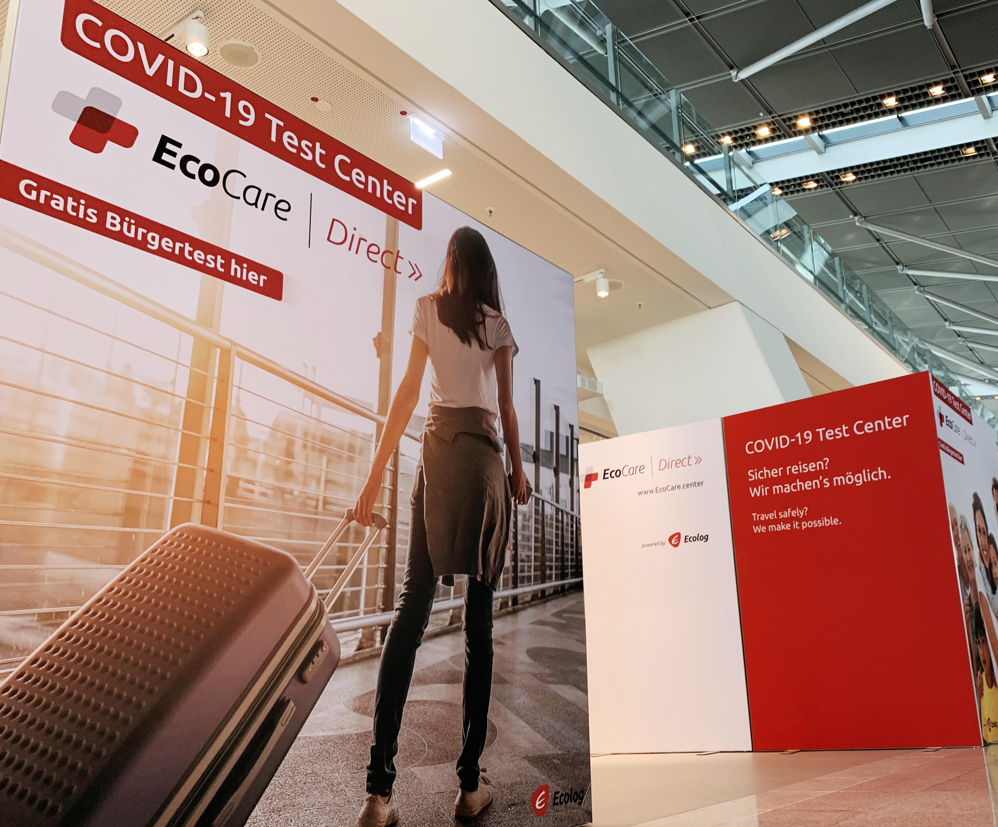 ▷ HealthCare Anbieter EcoCare eröffnet Corona Testzentrum im ...