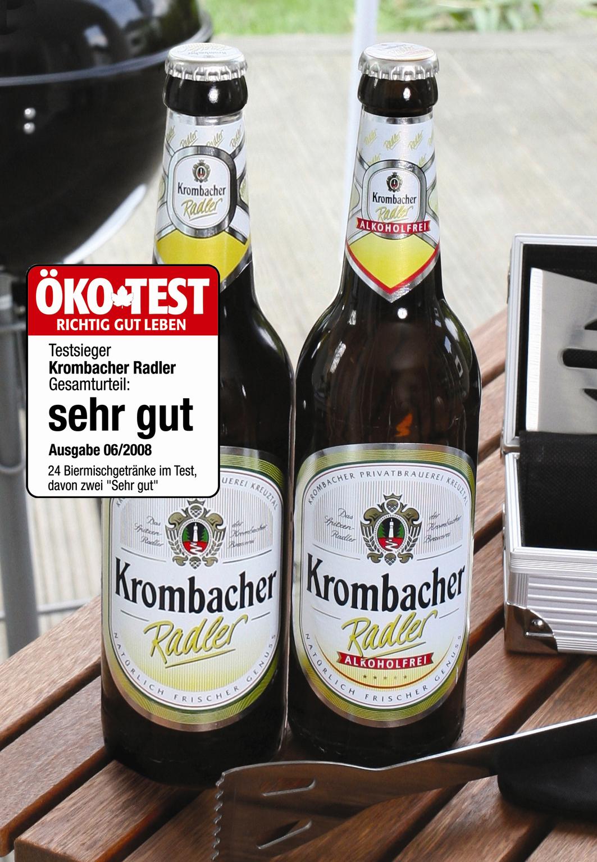 ▷ Krombacher Radler / Die Nr. 1 bei den Verbrauchern und bei ÖKO ...