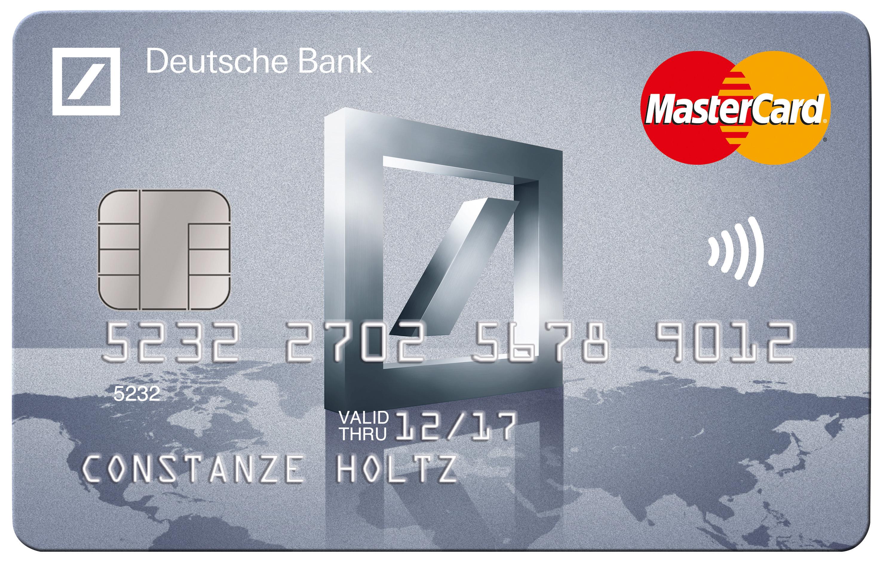 deutsche bank mit neuer kreditkarte speziell f r reise und urlaub deutsche bank presseportal. Black Bedroom Furniture Sets. Home Design Ideas