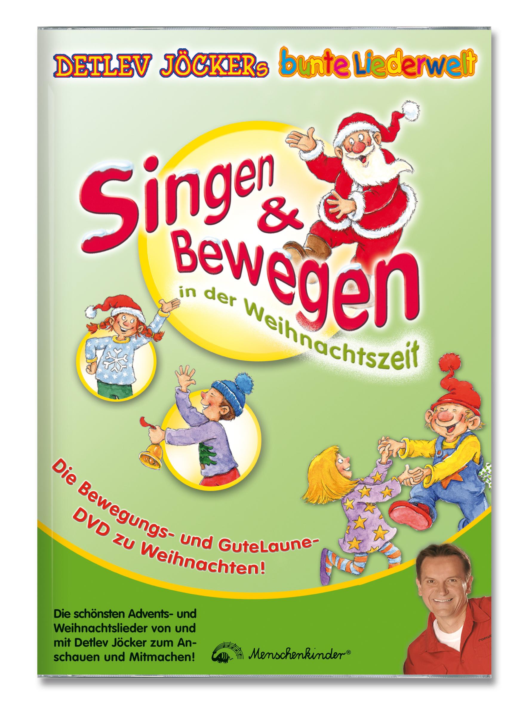 ▷ Weihnachtslieder, die Kinder bewegen / Neue Sing- und Tanz-DVD ...
