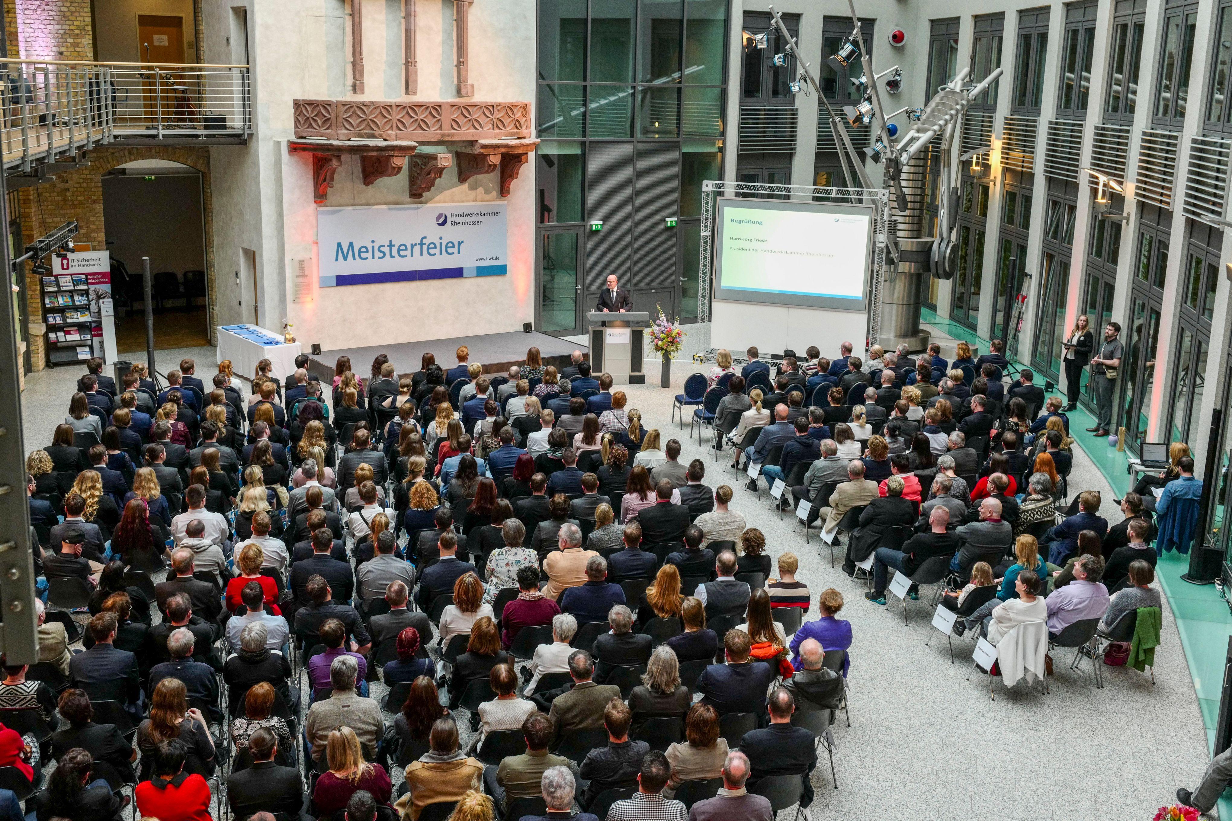 Meisterfeier der Hörakustiker 2018 / 198 frisch geprüfte Meister in ...