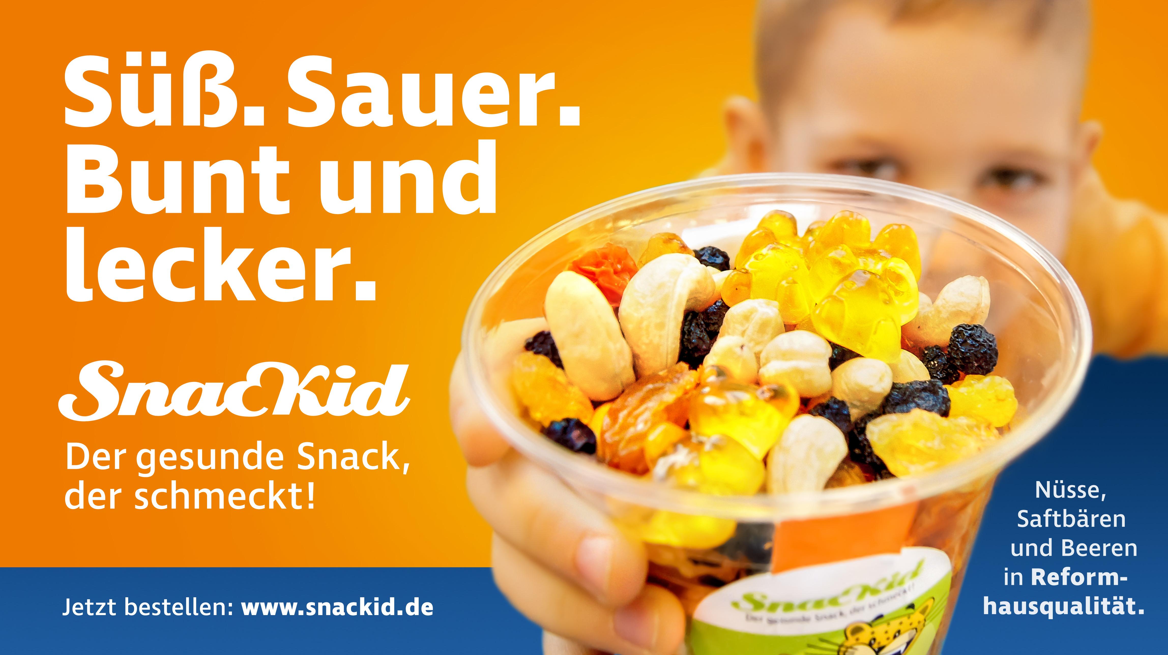Fabulous ▷ SnacKid - gesunde Snacks für zwischendurch | Presseportal DE13