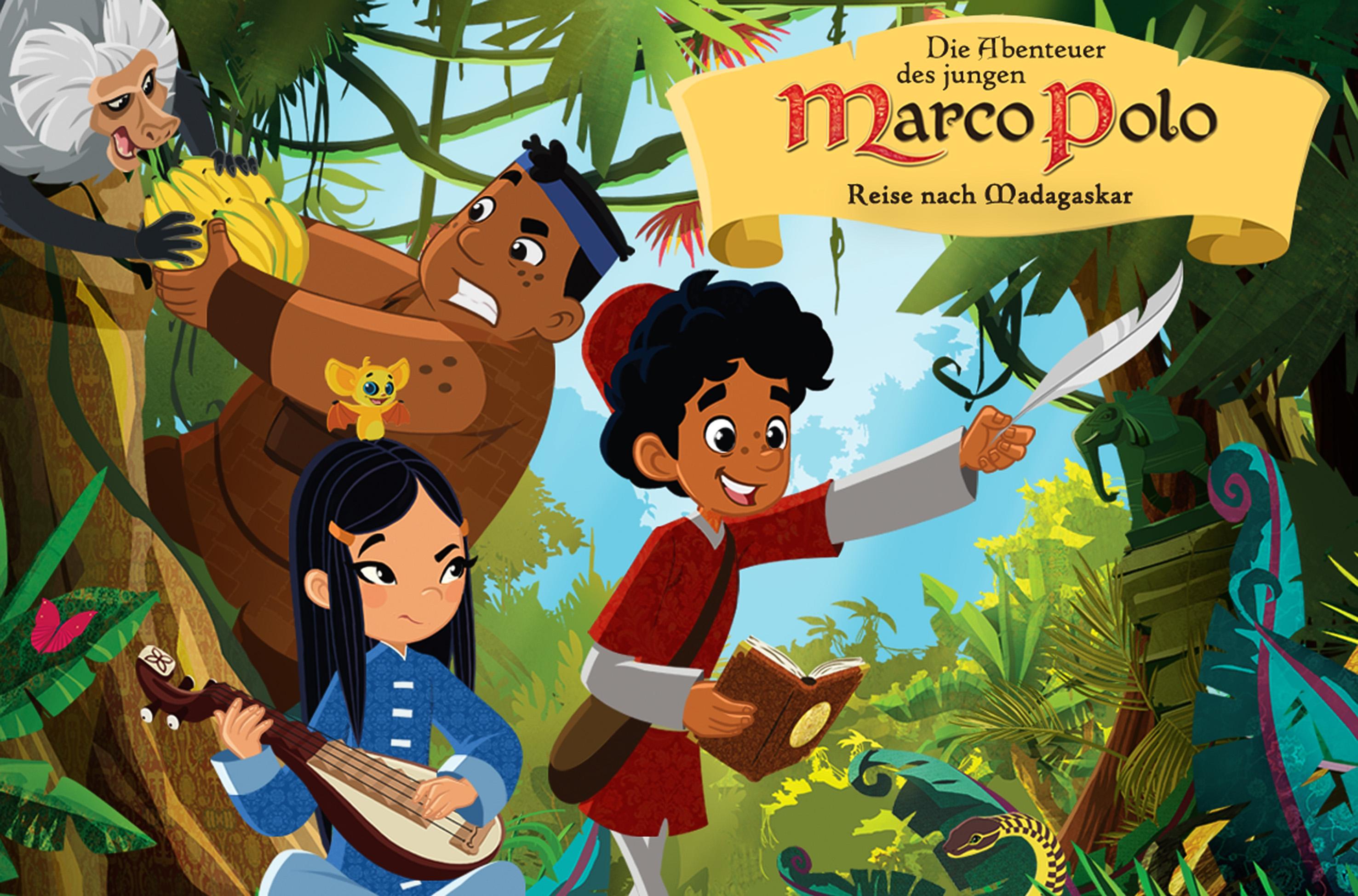23071ac211 Marco Polos neue Abenteuer: Zweite Staffel der MDR-Animationsserie bei KiKA