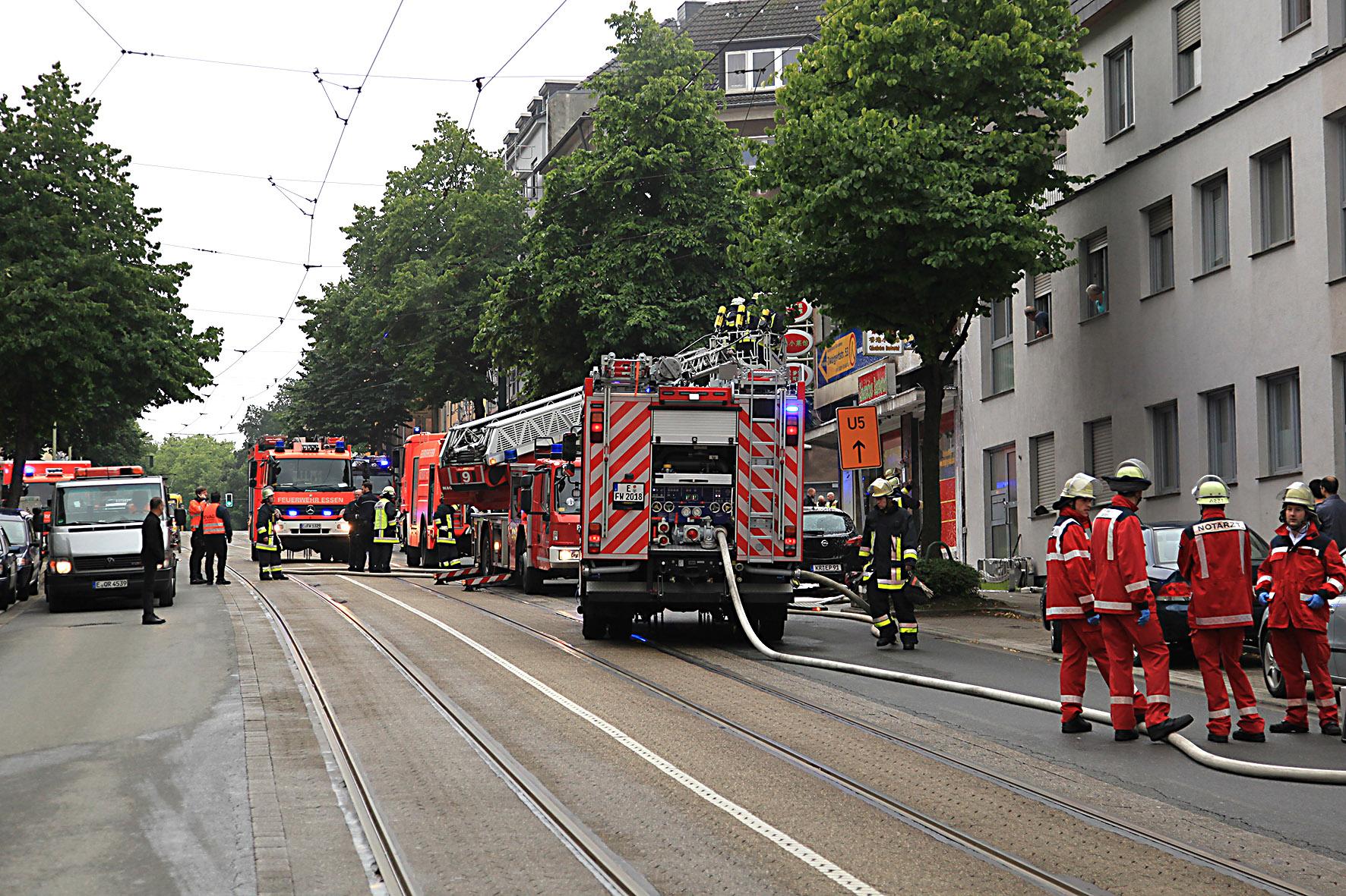 Düsseldorf Feuer Heute