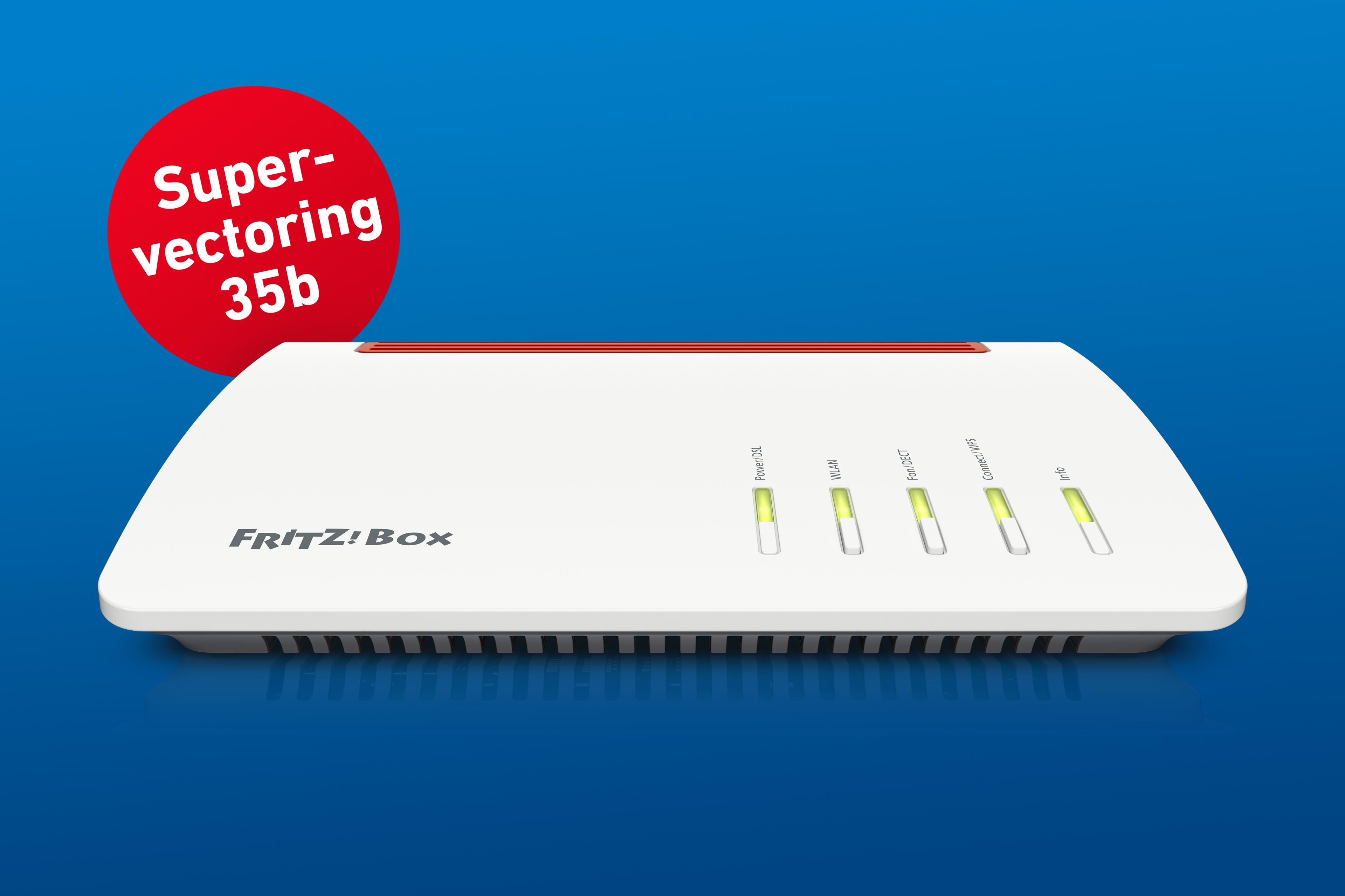 Neue DSL-Technologie Supervectoring 35b mit FRITZ!Box 7590 gestartet ...