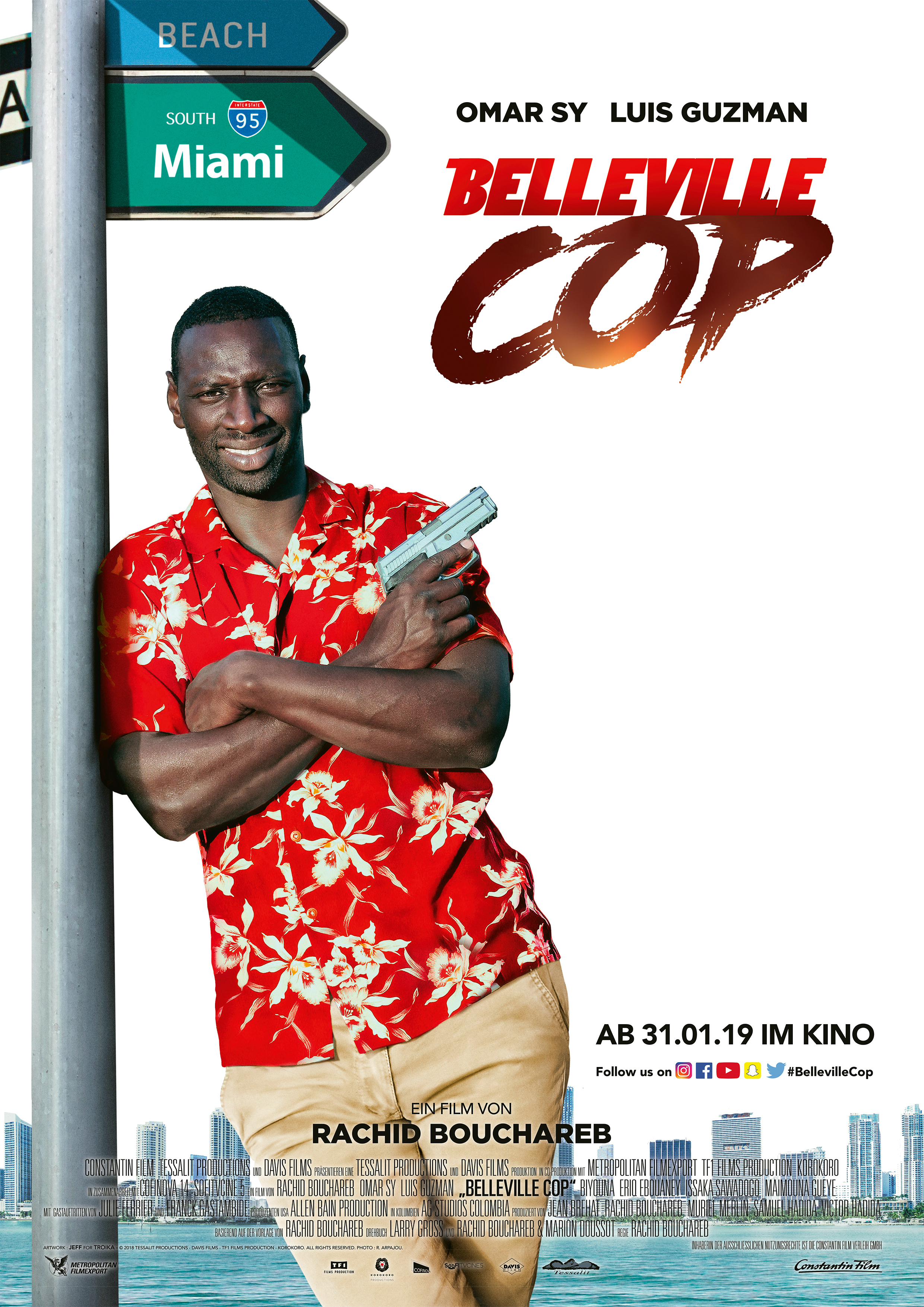 Omar Sy Ist Der Belleville Cop Ab 31 Januar 2019 Im Kino