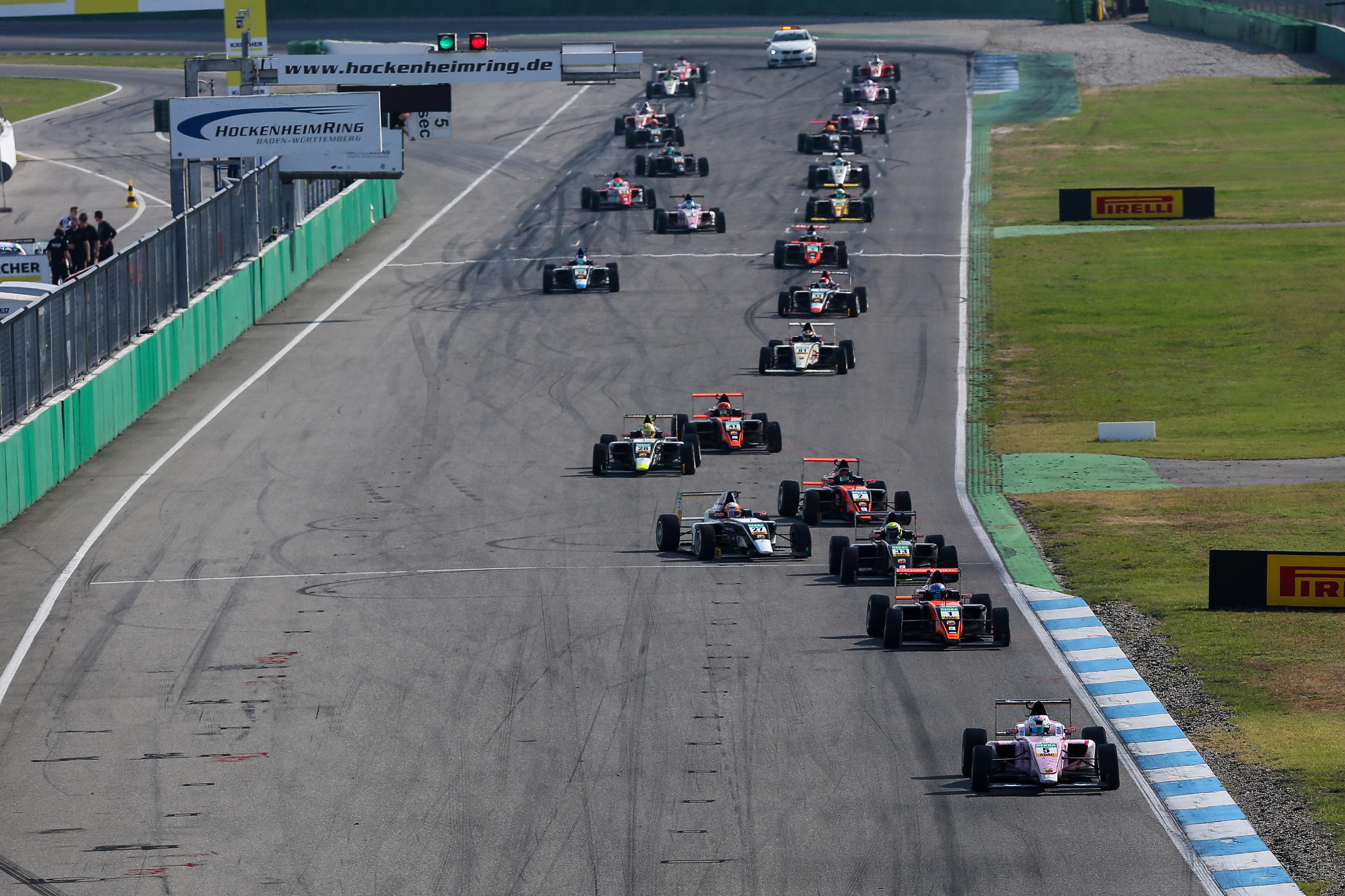 ▷ ADAC Formel 4 startet im Rahmen der Formel 1 | Presseportal