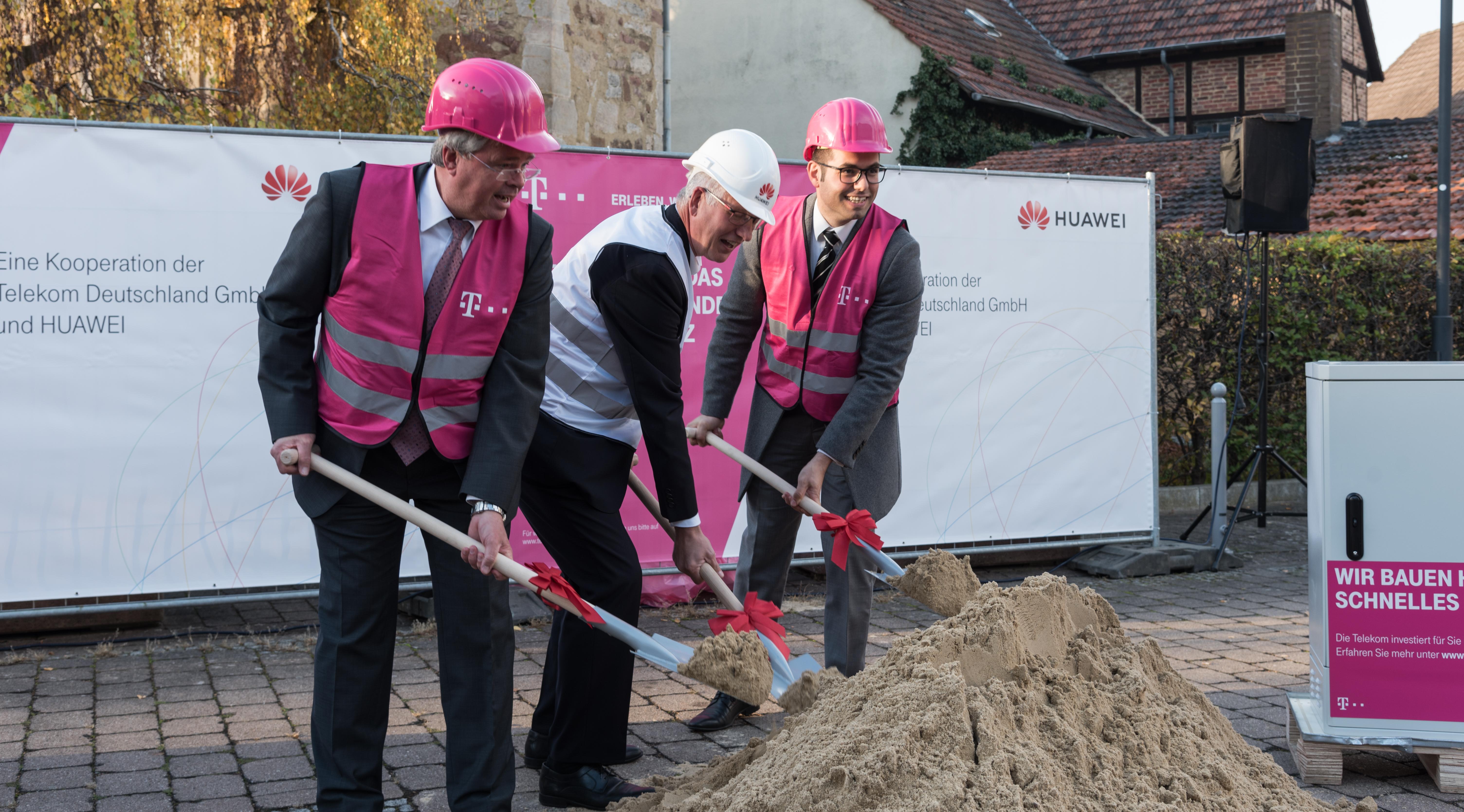Deutsche Telekom Und Huawei Bringen Innovatives Ftth Nach