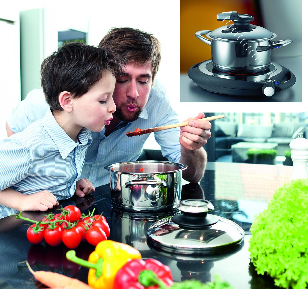 freizeit backen und kochen alles unter einem deckel pressemitteilung amc deutschland amc. Black Bedroom Furniture Sets. Home Design Ideas