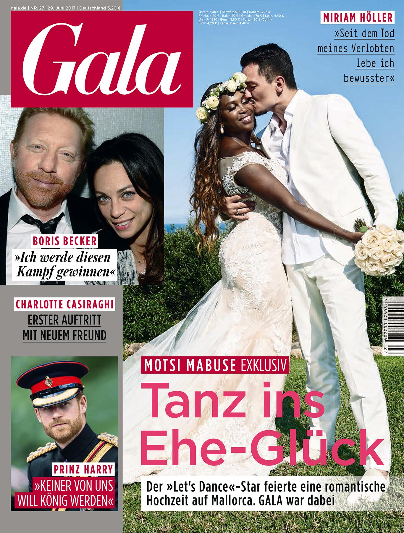 ▷ Exklusiv in GALA: Motsi Mabuse hat geheiratet | Presseportal