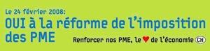 """""""Oui à la reforme de l'imposition d.PME"""""""