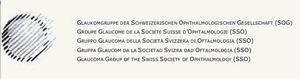 Groupe Glaucome de la Société Suisse dOphtalmologie (SSO)
