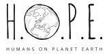H.O.P.E. - humans on planet earth UG (haftungsbeschränkt)