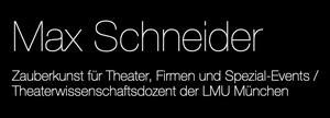 Max Schneider - Zauberkunst