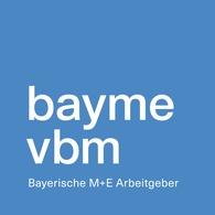 bayme vbm - Die bayerischen Metall- und Elektro-Arbeitgeber
