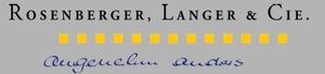 Rosenberger, Langer & Cie.