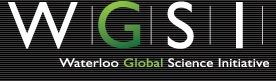 Waterloo Global Science Initiative (WGSI)