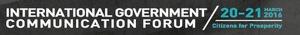 IGCF 2016 (International Government Communication Forum 2016)
