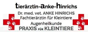 Fachtierärztin für Kleintiere Dr. med. vet. Anke Hinrichs
