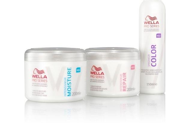 Neu Die Wella Pro Series Haarkuren Zwei Intensivkuren Und Eine