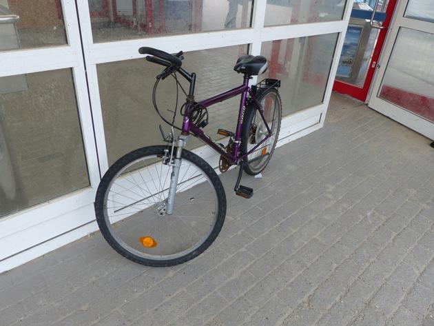 Wem gehört dieses Mountainbike?