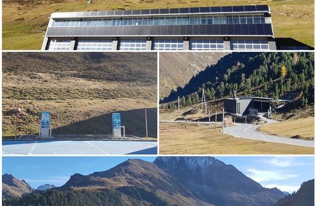 Mit Sonnenstrom in den Winter - Saubere Energie für Bergbahnen Kühtai
