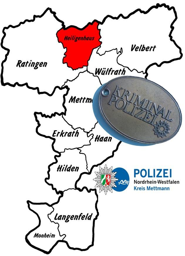 Symbolbild: Kriminalpolizei ermittelt nach Einbruch in Heiligenhaus