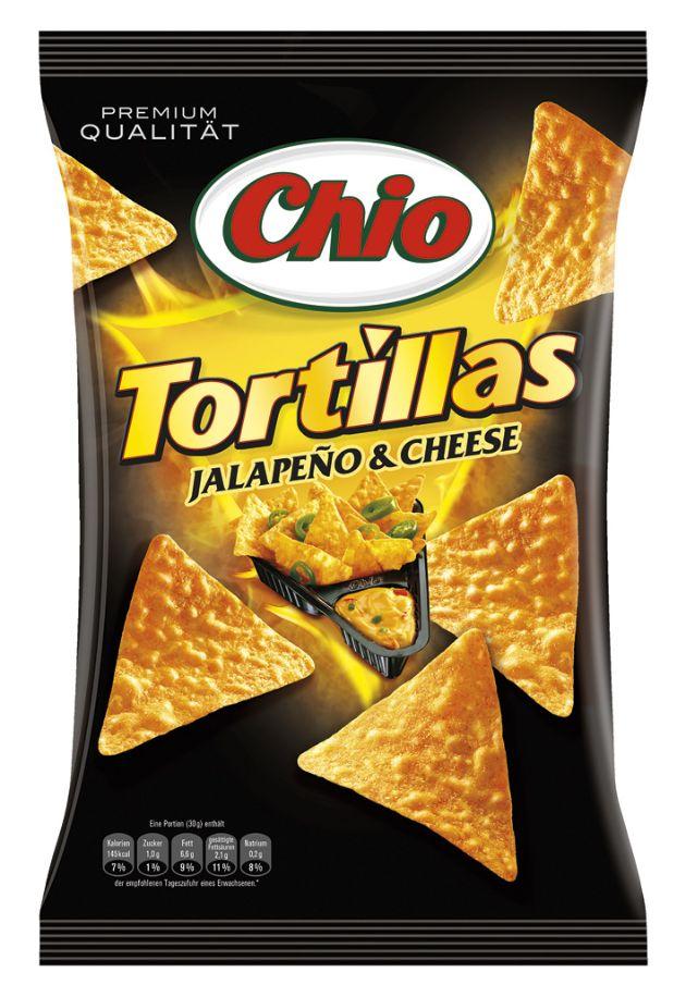 """Chio Tortillas & Dip! - jetzt wird's scharf / Die Verwendung dieses Bildes ist für redaktionelle Zwecke honorarfrei. Veröffentlichung bitte unter Quellenangabe: """"obs/Intersnack Knabber-Gebäck GmbH & Co. KG"""""""