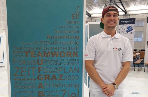 Ein Thüringer auf dem Weg nach Graz / Als Mitglied des Maler Nationalteams war Hauke Eder vom 19.-22. Februar 2020 gemeinsam mit seinen Teamkolleg*innen zum Auswahlwettbewerb in Hamburg angetreten