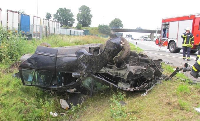 POL-ROW: 6 Verletzte bei Verkehrsunfall auf der Hansalinie