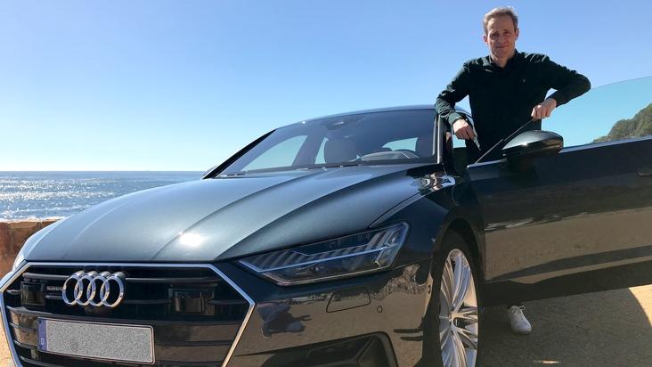 "GRIP - Das Motormagazin:""Der neue Audi A7 Sportback"""