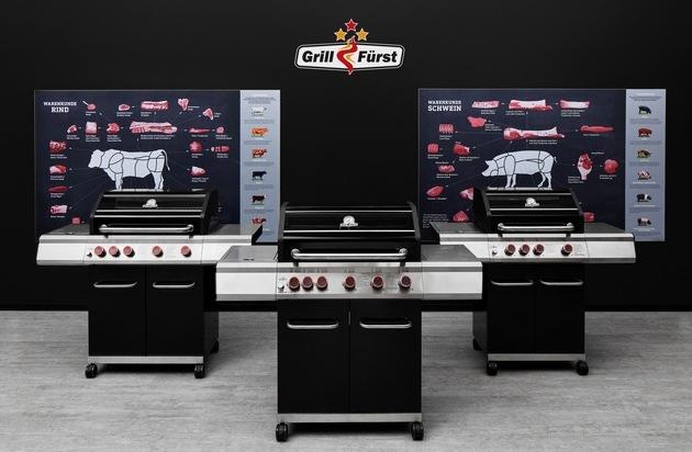 Grillfürst startet Verkauf der eigenen Gasgrill Grillserie - Strategische Kooperation mit REWE zur Markteinführung