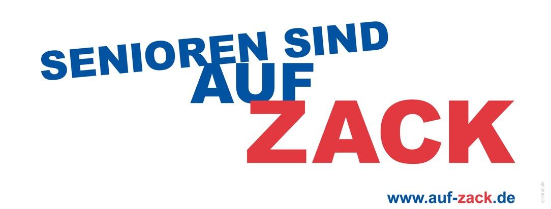 """Slogan """"SENIOREN SIND AUF ZACK"""""""