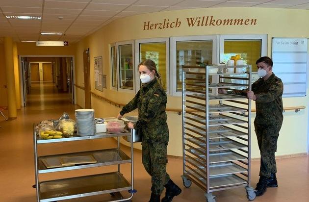 Die Bundeswehr unterstützt weiterhin im Corona-Einsatz und darüber hinaus