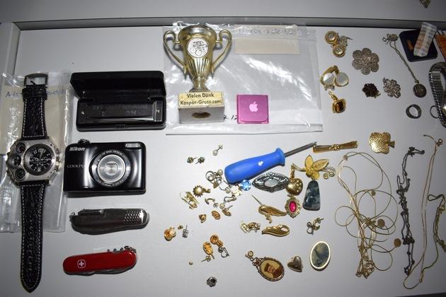 Stehlgut Quellenangabe: Polzeidirektion Flensburg