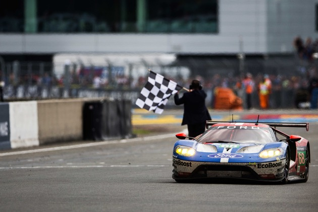 Ford gewinnt die 24 Stunden von Le Mans in der GTE-Kategorie