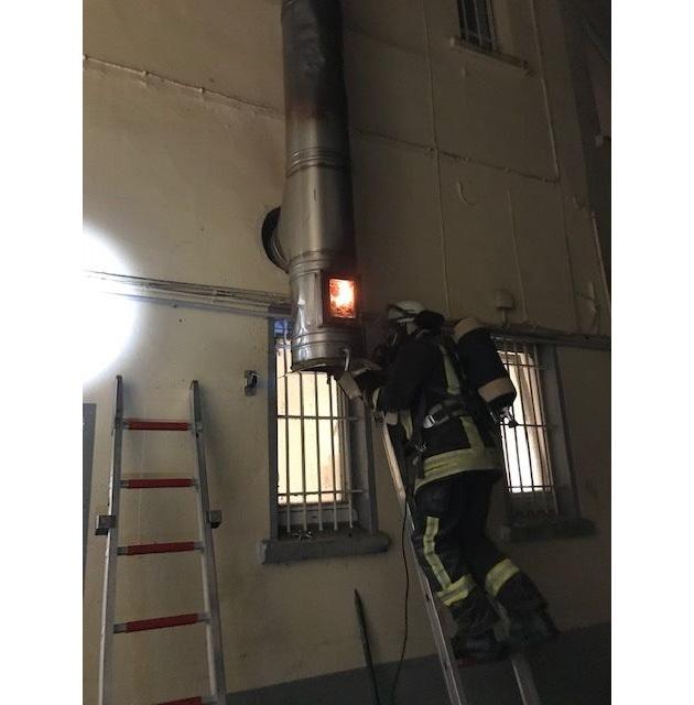 FW-DO: Kaminbrand in einem Restaurant