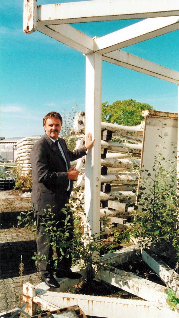 Das Botta-Zelt - ab 2001 im Europa-Park Rust