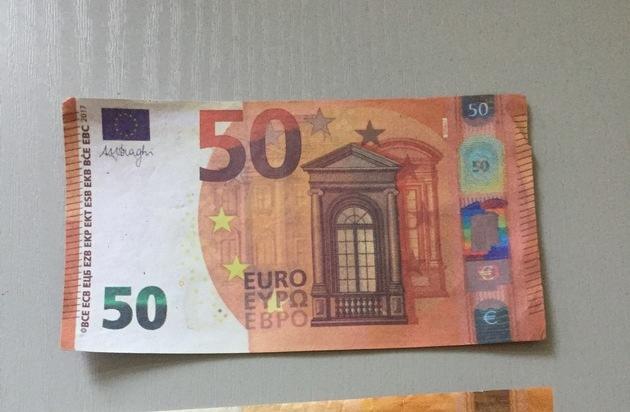 POL-NB: Das Geld liegt auf der Straße...