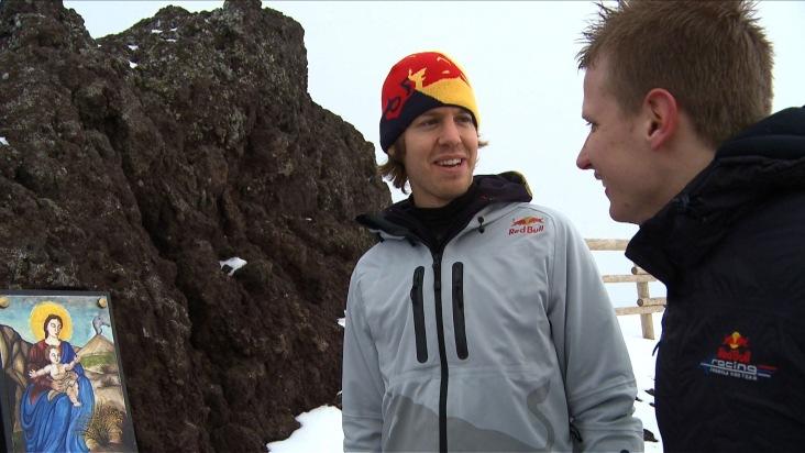 Sebastian Vettel im ServusTV-Spezial