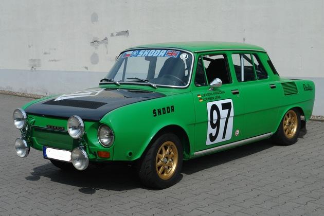 SKODA schickt historisches Trio zur Oldtimer-Rallye Wiesbaden