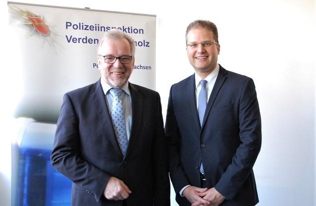 POL-VER: +++ Personalwechsel in der Polizeiinspektion Verden/Osterholz +++ Kriminalrat Andreas Lohmann... - Presseportal.de