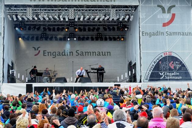 Unheilig rockt Formations-EM in Samnaun