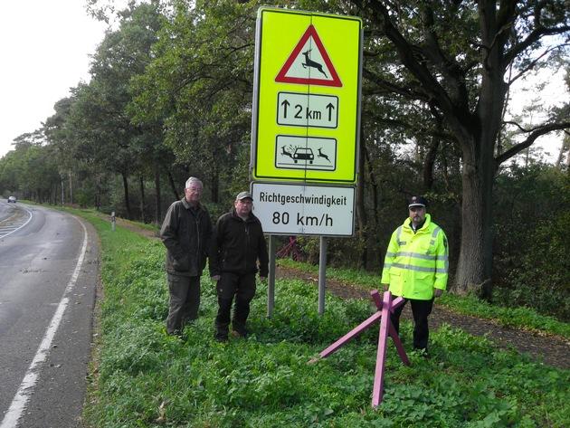 POL-NI: Achtung, Wildunfall!